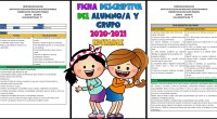 FICHA DESCRIPTIVA DEL ALUMNO/A Y DE GRUPO