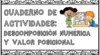 Os traemos de nuevo, una recopilación de las mejores actividades matemáticas para trabajar la descomposición numérica y el valor posicional; preparadas para repasar este verano con nuestros peques.
