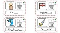 ¡Hola! Aquí esta la segunda y última parte para que trabajéis la ortografía de R y la RR en lxs más peques. Las podéis juntar a las 40 primarias tarjetas […]