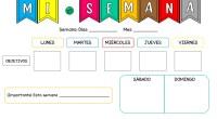 Os presentamos este sencillo planificador semanal para que tanto alumnos/as como profesores se autoevaluen la semana de una forma sencilla y entretenida.