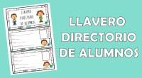 Os he diseñado este original directorio para que llevéis a manos la información más importante de vuestros alumnos, en un formato muy cómodo y práctico.