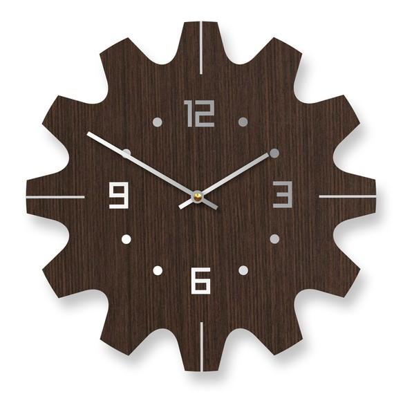 Dimitri bamboo wall clock