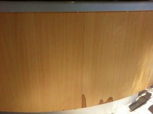 Chipboard furniture & cladding - maintenance problem