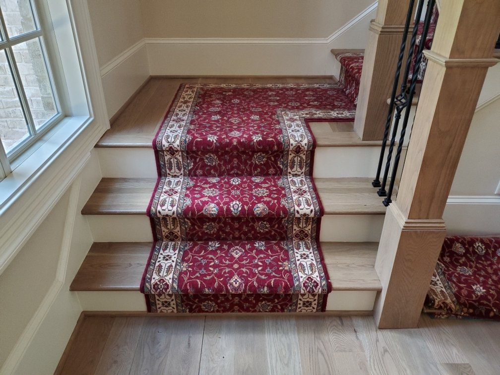 Runner Rugs Stair Runner Installation Is Done Be Professionals | Square Rug For Stair Landing | Area Rugs | Stair Treads | Handrail | Flooring | Mat
