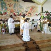 Dungu / Religion : Frère Blaise Mbikoyesu Mersi ordonné diacre