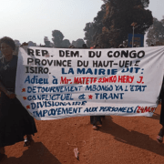 Isiro : Joseph Matete Osako indésirable à la mairie