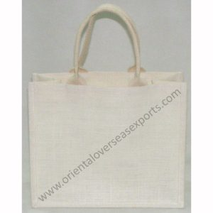Jute Bag With Jute Handles