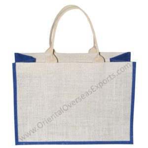 Cotton Web Handles Jute Bag
