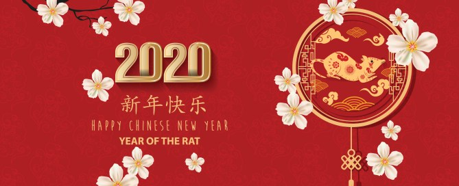 Chinese new year rat