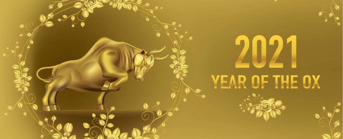 2021 year of the golden ox