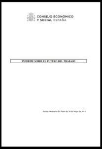 Informe sobre el Futuro del Empleo en España. Consejo Económico y Social 2018