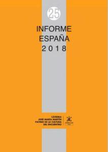 informe España 2018 Fundación Ramón Areces y Cátedra José María Martín Patino de la Cultura del Encuentro