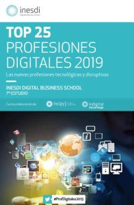 Top 25 Profesiones Digitales 2019 Inesdi