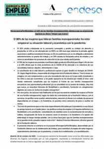 9 informe monomarentalidad y empleo FAdecco