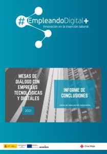 informe de conclusiones empresas tecnológicas. Cruz Roja 2021