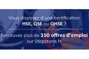 Offres d'emploi QHSE QSE Sécurité Environnement