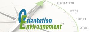 formations et emploi environnement