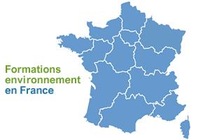 carte intéractive des formations environnementales