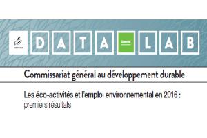 éco-activités et emploi environnemental 2016