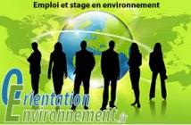 stage et emploi environnement