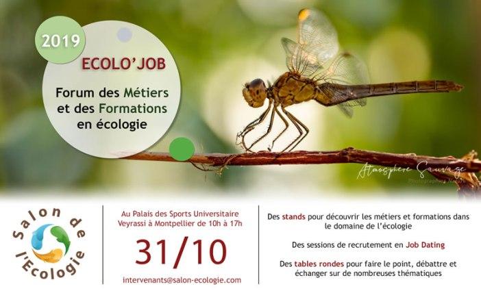 forum Ecolojob des métiers de la nature