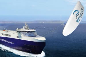Airseas, transport maritime à la voile