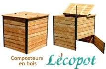 composteur en bois Lécopot