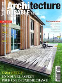 revue architecture durable