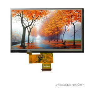 "7.0"" 800*480 Color TFT LCD Display"