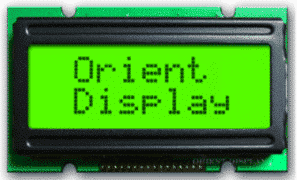 Orient Display Products: Character LCD