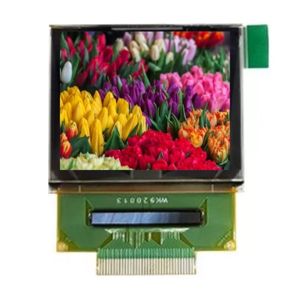 Parallel to SPI OLED display
