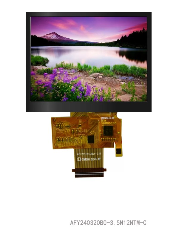 """3.5"""" TFT, 320x240, 440 Nits with Capacitive Touch Panel"""