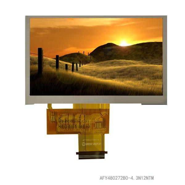 4.3 inch tft display 520 nits