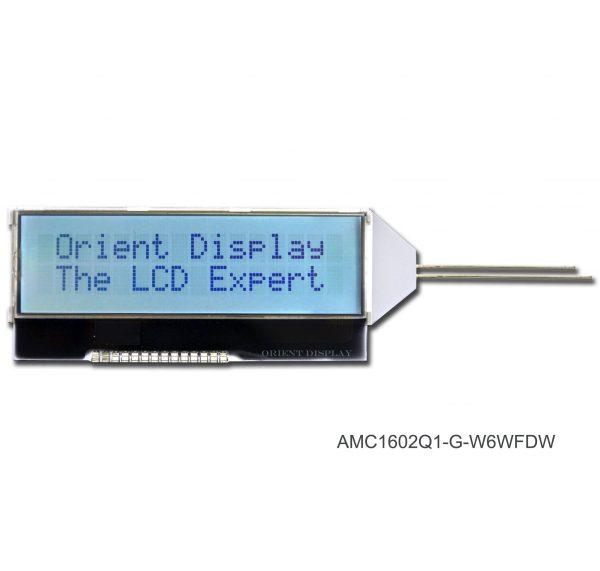 AMC1602Q1-G-W6WFDW (16x2 COG LCD Module)