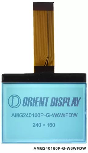 2.5 240×160 cog graphic lcd module