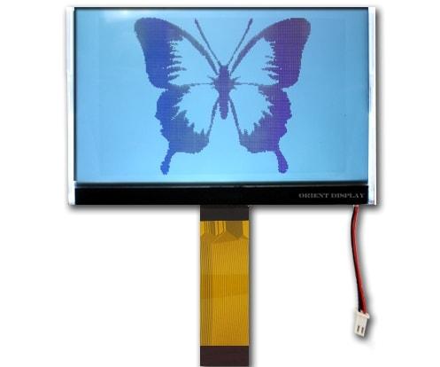 """AMG240160Q-G-W6WFDW (3.9"""" 240x160 COG Graphic LCD Module)"""