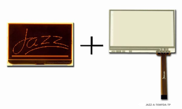 JAZZ-A-T6WFDA-TP (LCD+BL+RTP Graphic COG 128x64)