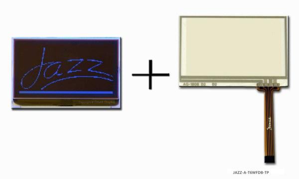 JAZZ-A-T6WFDB-TP (LCD+BL+RTP Graphic COG 128x64)