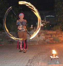 Feuershow Elenya