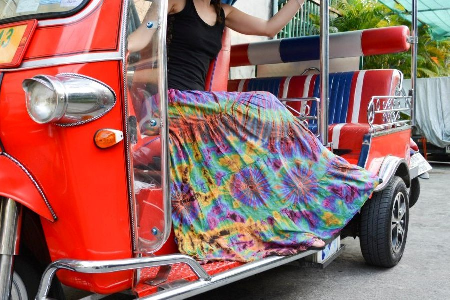 Our Tie-dye Long Maxi Boho Gypsy Skirts
