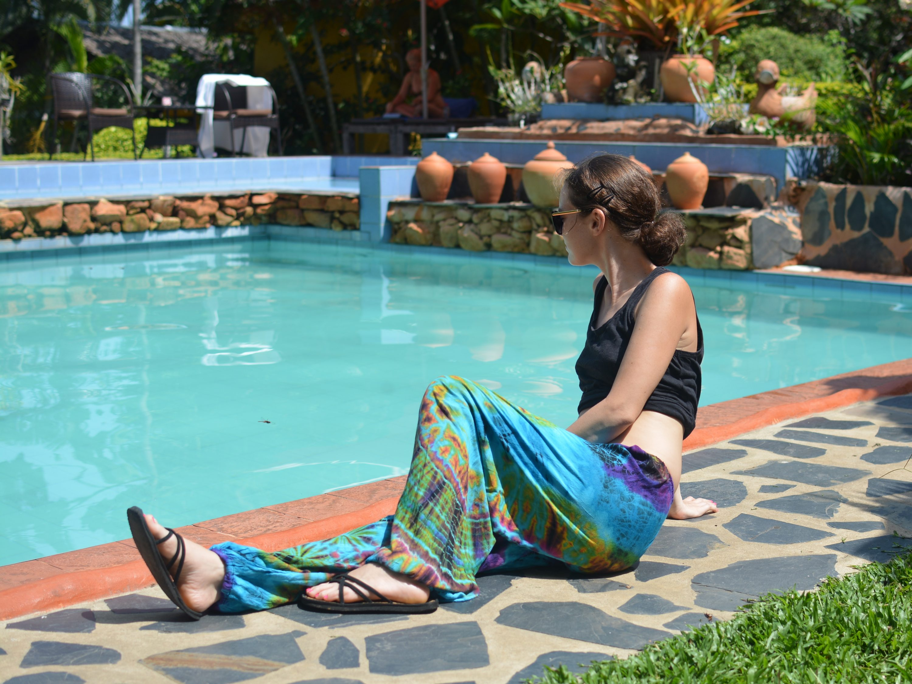 Our Andaman Sea Tie-dye Lounge Pants