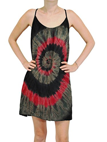 Orient Trail Women's Hippie Boho Tie-dye Island Sundress