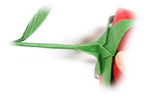 Origami flower stem the best flower 2017 origami tulip and flower stem how to make an origami lily 537 best hanmade images on mightylinksfo Choice Image