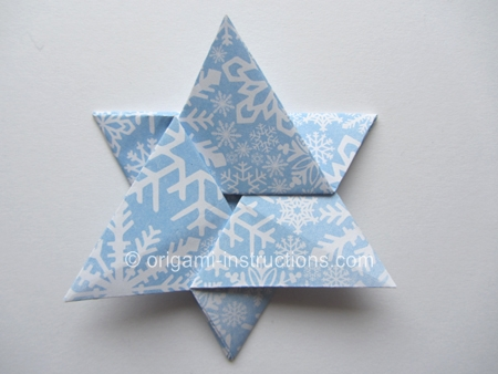 Easy Origami Star Of David Folding Instructions