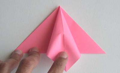 Origami Lily flower photo diagrams 3