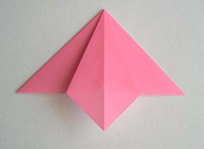 Origami Lily flower photo diagrams 4