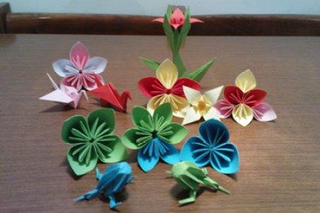 Interior origami flowers free interior design mir detok very easy origami easy origami flowers car interior design easy origami peach flower easy origami flowers car interior design diy origami flower project mightylinksfo