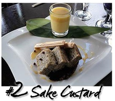 Sake Custard Special