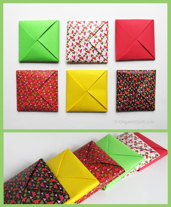 A Menko How To Make A Traditional Origami Envelope