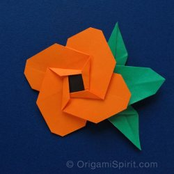 Printable flower origami gardening flower and vegetables origami flowers video instructions for flowers fruits and food mightylinksfo